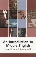 Introduction To Middle English (03 Edition)