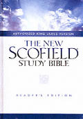 Bible Kjv New Scofield Study Readers