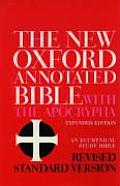 Bible RSV New Oxford Annotated with Apocrypha expanded edition
