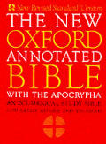 The new Oxford annotated Bible with the Apocrypha.