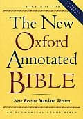 Bible Nrsv New Oxford Annotated 3rd Edition