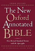 Bible Nrsv Black New Oxford Annotated