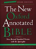 The New Oxford Annotated Bible with the Apocrypha, Augmented Third Edition, New Revised Standard Version Cover