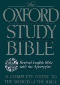 Oxford Standard Bible, Revised English With Apocrypha (92 Edition) Cover