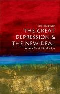 The Great Depression and the New Deal: A Very Short Introduction (Very Short Introductions) Cover