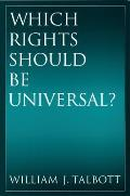 Which Rights Should Be Universal