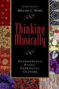 Thinking Musically - With 2 CDS (2ND 09 - Old Edition) Cover