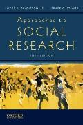 Approaches to Social Research Cover