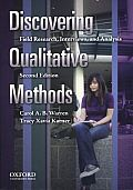 Discovering Qualitative Methods: Field Research, Interviews, and Analysis (2ND 10 - Old Edition)