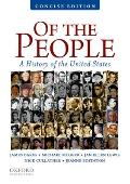 Of the People A History of the United States Concise Edition