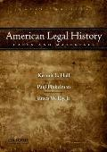 American Legal History: Cases & Materials by Kermit L. Hall