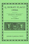 Q. Horati Flacci Opera (Oxford Classical Texts Ser)