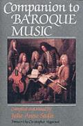 Companion to Baroque Music