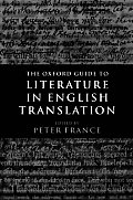 Oxford Guide To Literature in English Translat