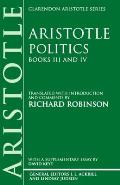Politics: Books III and IV
