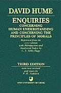 Enquiries Concerning Human Understanding & Concerning the Principles of Morals 3rd Edition Reprinted from the 1777 Editon with Introduction & Analytical Index by L A Selby Bigge