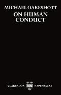 On Human Conduct Cover
