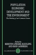 Population, Economic Development, and the Environment