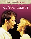 As You Like It (Oxford School Shakespeare) Cover
