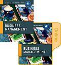 Ib Business Management Print and Online Course Book Pack: Oxford Ib Diploma Program (Ib Diploma Program)