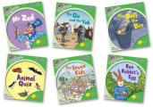 Oxford Reading Tree: Level 2: More Songbirds Phonics: Pack (6 Books, 1 of Each Title, Including Free Teaching Notes)