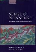 Sense and Nonsense: Evolutionary Perspectives on Human Behaviour