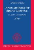 Direct Methods for Sparse Matrices