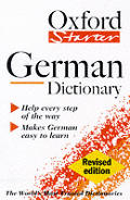 The Oxford starter German dictionary Cover