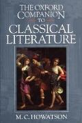 The Oxford Companion to Classical Literature Cover