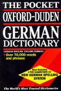 Pocket Oxford Duden German Dictionary Revised Edition