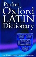Pocket Oxford Latin Dictionary 2nd Edition