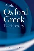 Pocket Oxford Greek Dictionary 2nd Edition