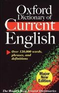 Oxford Dictionary of Current English 3RD Edition