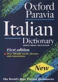 Oxford Paravia Italian Dictionary