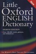 Little Oxford English Dictionary 8th Edition