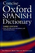 Concise Oxford Spanish Dictionary 3RD Edition Cover