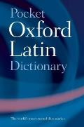 Pocket Oxford Latin Dictionary 3RD Edition