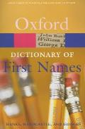 Dictionary of First Names 2nd Edition