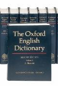 The Oxford English Dictionary (20 Volume Set)