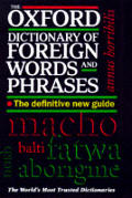 Oxford Dictionary of Foreign Words & Phrases
