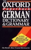 The Oxford Paperback German Dictionary and Grammar Cover