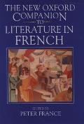 New Oxford Companion to Literature in French