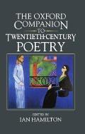 Oxford Companion to Twentieth century Poetry in English