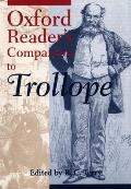 Oxford Readers Companion To Trollope