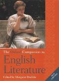 The Oxford Companion to English Literature Cover