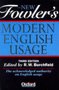 New Fowlers Modern English Usage 3RD Edition