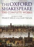 Complete Works William Shakespeare Oxford