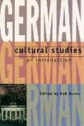 German Cultural Studies: An Introduction