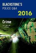 Blackstone's Police Q&A: Crime 2016