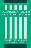 Communitarianism and Individualism